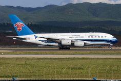 Airbus A380-841, China Southern Airlines, B-6136, cn 031. Kunming, China, 28.8.2013.