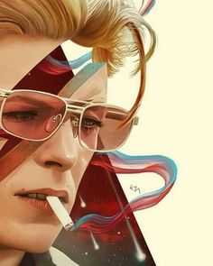 "EM on Instagram: ""Happy birthday Ziggy David Bowie Labyrinth, David Bowie Art, Music Is Life, My Music, Music Film, Rock And Roll, Ziggy Stardust, Ziggy Played Guitar, Art Through The Ages"