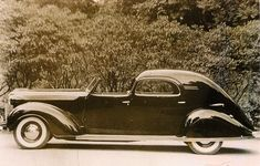 One of a kind 1937 Chrysler Imperial. Commissioned by Walter Chrysler for his daughter, it is said to be 19 feet long and weigh four tons