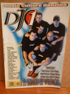 DJ 1 Nº 36. EL SONIDO DE VALENCIA. REVISTA NUEVA.