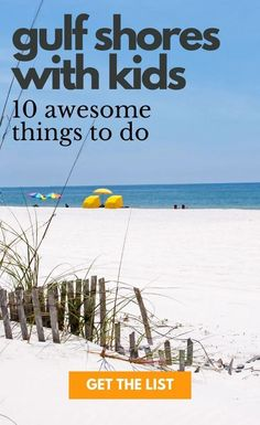 There are so many awesome things do in Gulf Shores with kids that this under-the-radar destination should be on every beach-loving familys bucket list. Get the list of 10 best activities to do in Gulf Shores and a weekend itinerary! Gulf Shores Beach, Gulf Shores Vacation, Gulf Shores Alabama, Destin Beach, Beach Trip, Travel Usa, Travel Tips, Travel Destinations, Canada Travel
