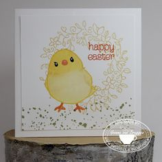 Yvonne is Stampin' & Scrapping: Stampin' Up! Bird with Honeycomb Happiness #stampinup