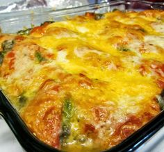 Stuffed Chili Relleno Casserole (S)