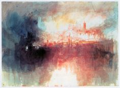 Incident at the London Parliament by JMW Turner