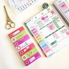 stunning weekly spread by Vanessa Ponce! Best Planners, Day Planners, Printable Planner, Planner Stickers, Printables, Planner Layout, Planner Ideas, Shilouette Cameo, Midori