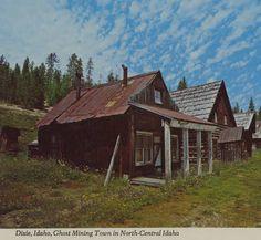 Dixie, Idaho. :: Northwest Historical Postcards Collection