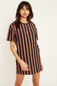 UO Vertical Stripe T-Shirt Dress