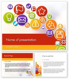 http://www.poweredtemplate.com/12132/0/index.html Colorful Icons PowerPoint Template