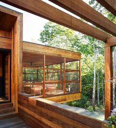 home in the woods by rangr studio - Google Search