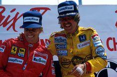 Stefan Johansson & Keke Rosberg (Detroit 1985)