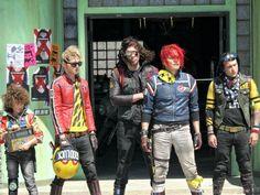 Danger+Days+Party+Poison | Girl, Kobra Kid, Jet Star, Party Poison & Fun Ghoul