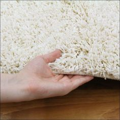 The Kensington Shaggy Rug in White / Ivory is a lovely rug to add warmth and style to your living areas. View here:  https://www.rugsofbeauty.com.au/collections/shaggy-rugs/products/kensington-shag-rug-ivory?variant=19505007425