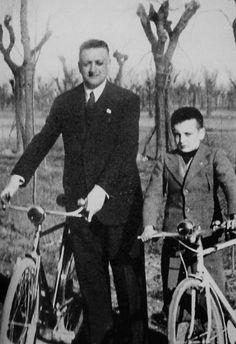 Enzo et Dino Ferrari.