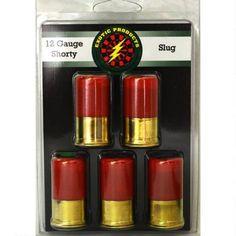 """Exotic Shorty 12ga Mini 1-3/4"""" 1oz Slug Lead 5 Pack - 00506 - 859205005064"""