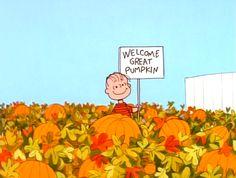 Welcome Great Pumpkin!