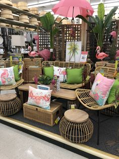 Hobby Lobby Furniture, Outdoor Furniture Sets, Outdoor Decor, Visual Merchandising Displays, Small Backyard Landscaping, Display Homes, Project Nursery, Shop Interiors, Home Goods