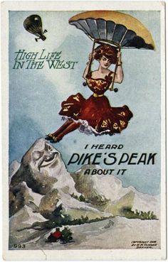 1908 Colorado Springs postcard