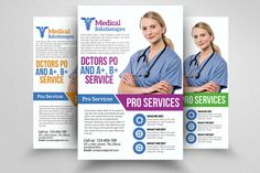 Medical Doctor Flyer by @Graphicsauthor