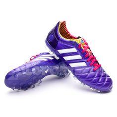 adidas adipure 11pro trx fg mens football boots purple