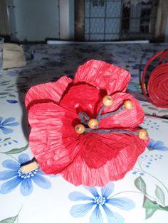alles-vanellis  papiertouw bloemen