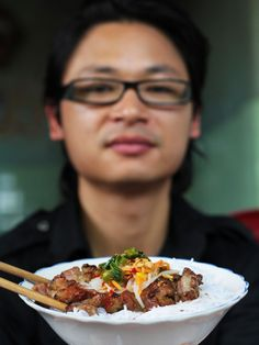 Char Grilled Pork Neck with Vermicelli Noodles: Bun Thit Nuong recipe via Food Network