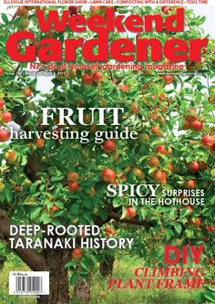 #359 gives you a practical guide on fruit harvesting, the secret to simple composting, and you'll find a spicy surprise in the hothouse. The DIY project is a fantastic Bamboo 'Wigwam' for your climbing plants.