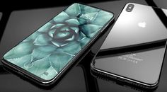 2017 iPhone concept showing an 18.5:9 aspect ratio display. Image credit: Concept Creator