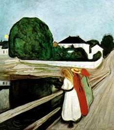 Edvard Munch's Girls on the Jetty at the Pompidou