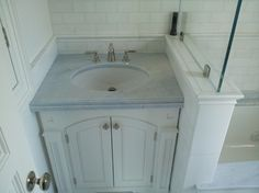 Carrara marble - traditional - bathroom - new york - La Pietra Marble, Inc.
