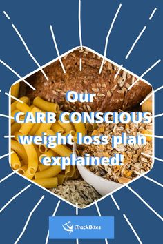 Carbs are hard! That's why we created the Carb Conscious plan. Track your food and reach your health goals! Healthy Eating Tips, Healthy Foods, Healthy Recipes, Start Losing Weight, Weight Gain, Weight Loss Plans, Weight Loss Journey, Fitness Goals, Fitness Tips