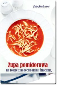 Tomato soup with chicken Zupa pomidorowa na rosole Tomato Soup, Chicken, Cooking, Smile, Food, Kitchen, Essen, Meals, Tomato Soup Recipes
