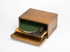The Original Braun Record Player, 1934