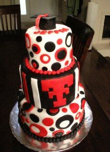 Texas Tech Cake... Want this for my graduation party