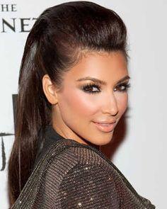 ¡Peinados de fiesta inspirados en Kim Kardashian! | Web de la Belleza