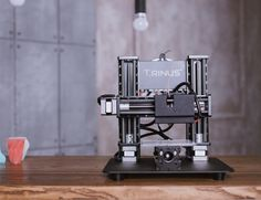 Made of industrial grade parts the @trinus_3dprinter is the professional 3D printer you can afford. Not only this this all-metal 3D printer can transform into a laser engraver within 60 seconds. Trinus is made with all premium aluminum and steel parts. Not only does it have a metal frame it also has metal internal components. No loose belts or plastic gears. Again with 11 modular units you will be able to set up TRINUS in no time! Pre-Order Price: $299 --- Check our profile URL for more…