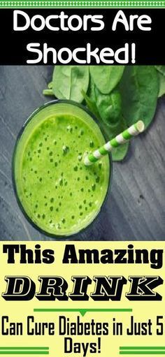 Doctors Are Shocked: This Amazing Drink Can Cure Diabetes In Just 5 Days - Healthy Tips Help