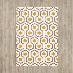 Langley Street Noam Hand-Tufted Beige/Gray/Yellow Area Rug & Reviews   Wayfair