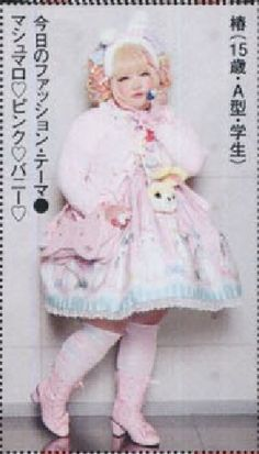 Plus size japanese lolitas! They exist!!