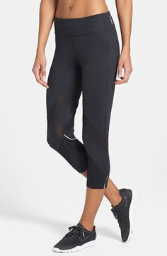 295db27d97 Zella  Bees Knees  Running Capris available at  Nordstrom Sale   33.90  After Sale