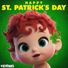 Wishing you the best of luck on this #StPatricksDay! #STORKS