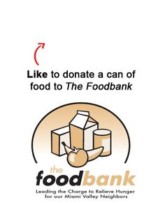 We are donating a can to a food to The Foodbank, Inc. of the Miami Valley for each Like on this pin! Like EatAtTGIFridays on Facebook and we'll donate another! www.facebook.com/EatAtTGIFridays