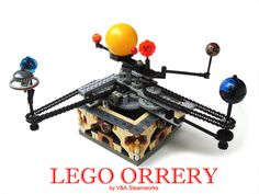 Lego Orrery by V Steamworks by V Steamworks, via Flickr