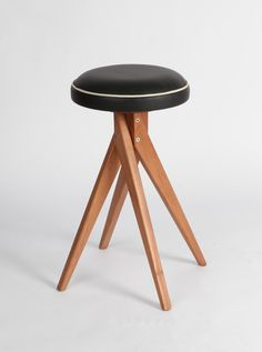 Banco X, 1950: Part of Z Line designed by José Zanine Caldas in the 50's, the stool is now reissued and authorized by his family.
