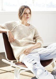 Rough knit