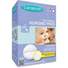 Lansinoh - Disposable Nursing Pads, 60-Count... I've tried others and keep coming back to these.