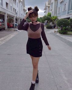 Styling by @biancabarbiedolls 90s Fashion, Korean Fashion, Girl Fashion, Fashion Outfits, Womens Fashion, New Girl Style, Filipina Actress, Christmas Party Outfits, Pretty And Cute