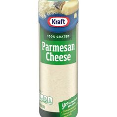 Kraft Grated Parmesan Cheese enhances your pastas, pizzas, seafood, salads and more with the bold taste of Kraft grated cheese. The sharp and tangy flavor complements your favorite recipes, and its pre-grated to save you valuable prep time in the kitchen. This cheese is sure to add great nutty and salty flavor to your favorite meals at any occasion. Sprinkle this Parmesan cheese over pasta dishes or add it your signature chicken Parmesan recipe for extra flavor. Kraft Parmesan Cheese comes… Pizza Pasta Salads, Pasta Dishes, Papperdelle Recipes, Food Handlers Permit, Kraft Parmesan Cheese, Recipe F, Cheese Cultures, Cheese Tasting, Chicken Parmesan Recipes