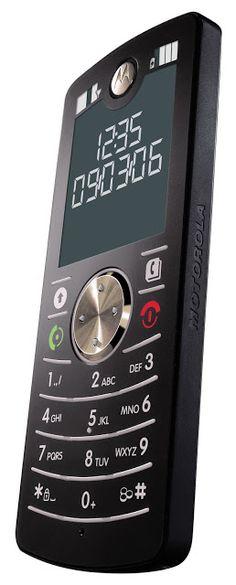 Retromobe - retro mobile phones and other gadgets: Motorola FONE / MOTOFONE F3…
