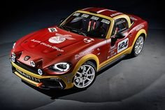 Fiat Abart 124 rally RGT with 300hp