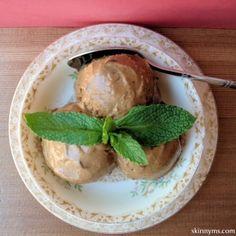Chocolate Mint Ice Cream paleo vegan